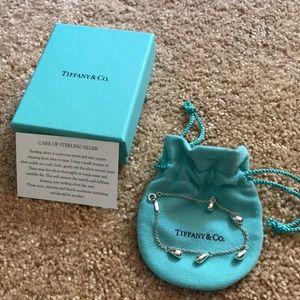 Tiffany's Sterling 5 Teardrops Bracelet